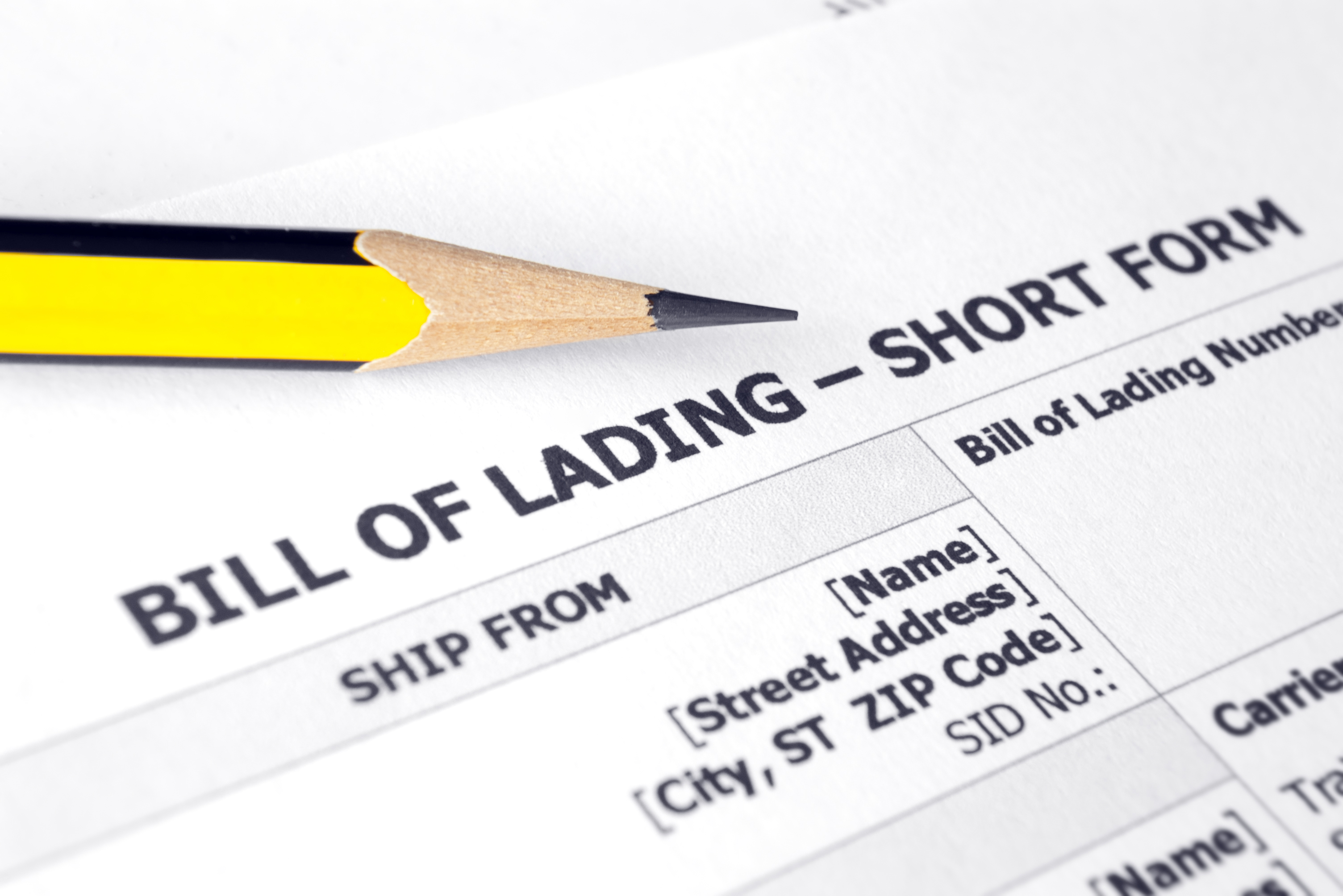 Understand and Prepare a Transportation Bill of Lading like a Pro