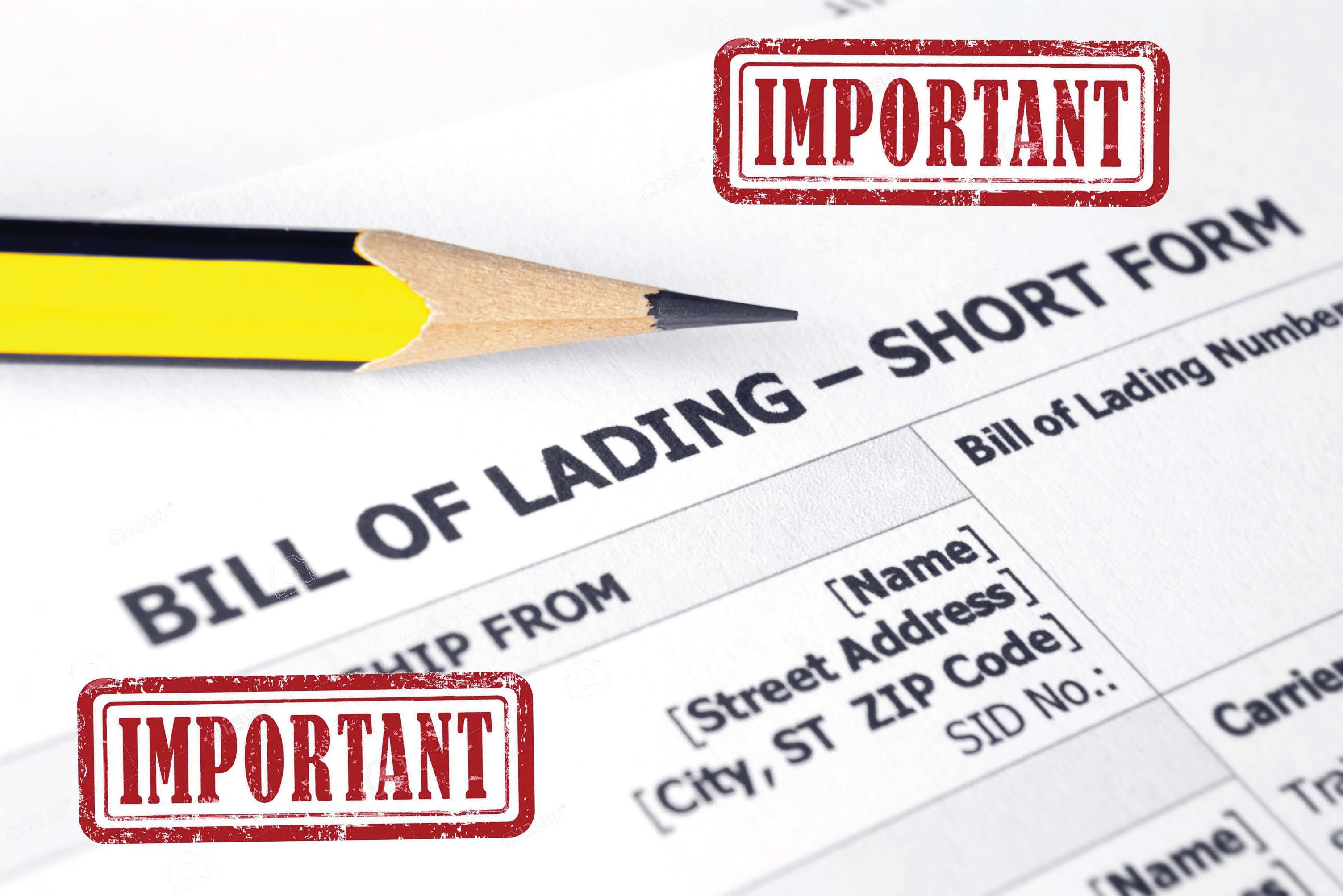 The Importance of a Fully Executed Bill of Lading