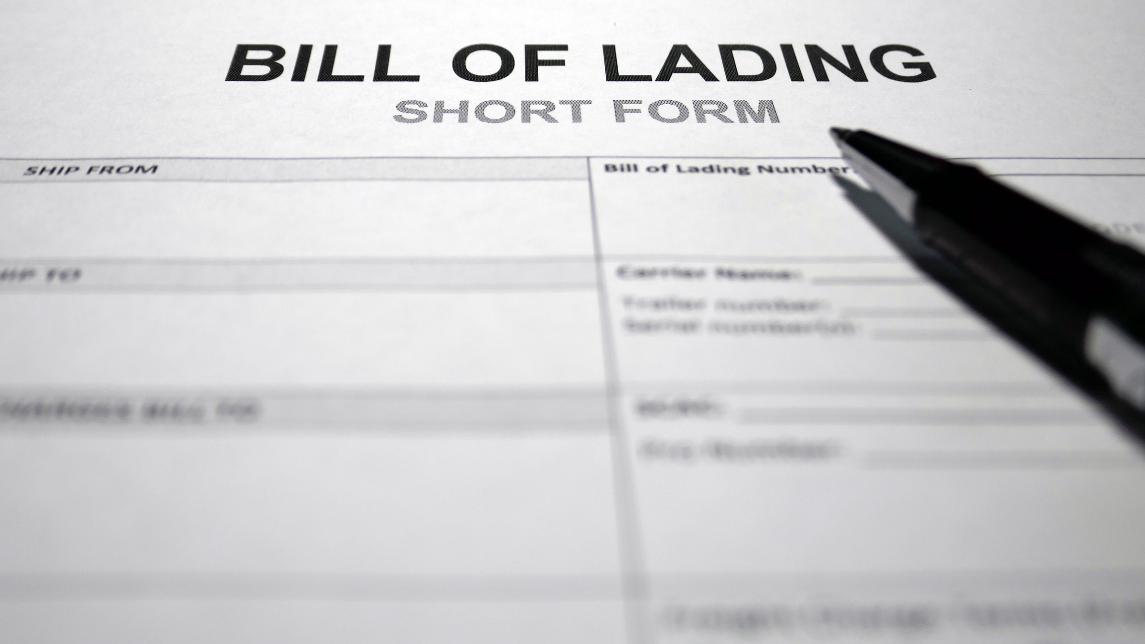 The Importance of a Signed Bill of Lading